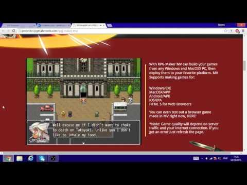 RPG Maker MV demo game