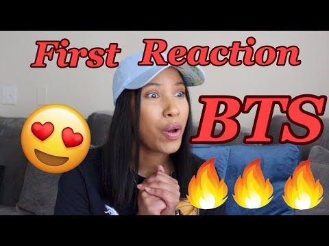 REACTING TO BTS FOR THE FIRST TIME!!! (Boy with Luv feat. Halsey MV)