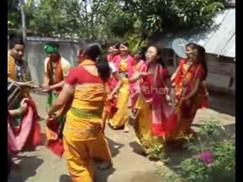 Bwisagu dance at Teacher colony (Bwisaguw maginai)