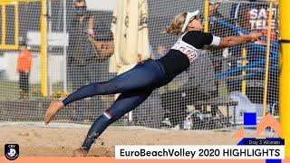 Women Beach Volleyball Day 3 Highlights - #EuroBeachVolley 2020