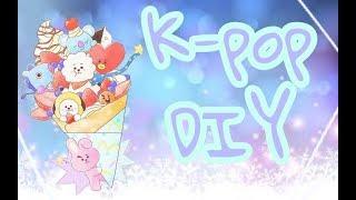   DIY   K-pop   BTS   Букет из Хосоков   Шьём маску как у айдолов  