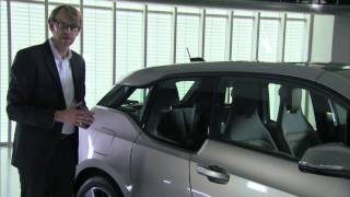 Interview and product walk-through with BMW i3 Head of Design Benoit Jacob