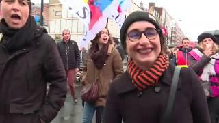 14/01 : manifestation contre la réforme des retraites au Havre