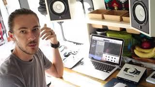 Mobile Recording Studio In Tiny Home Van Conversion