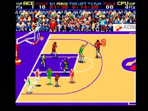 Double Dribble: Konami Classic Basketball Arcade Part 1