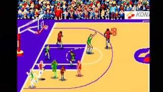 Double Dribble: Konami Classic Basketball Arcade Part 1