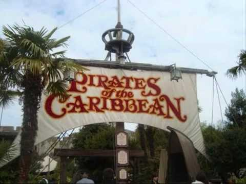 Pirates of the Caribbean - Scare Me (queue area - Disneyland Paris)