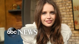 'On the Basis of Sex' star Felicity Jones on her new role as Ruth Bader Ginsburg
