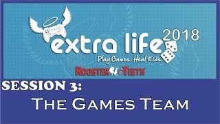 RT Extra Life 2018 - The Games Team