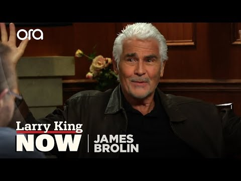 Who Wears the Pants: Mr. or Mrs. Brolin?  James Brolin   Larry King Now  Ora TV