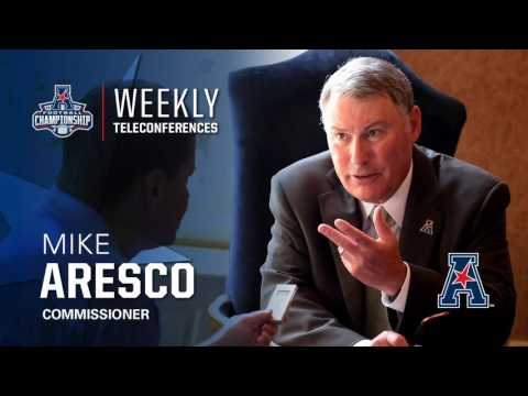 Football Teleconference Week 14: American Athletic Conference Commissioner Mike Aresco