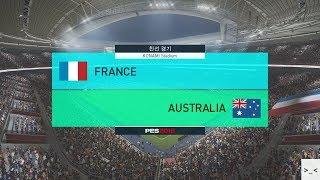 러시아 월드컵 프랑스 vs 호주 매치 게임 경기 예측 하이라이트 영상