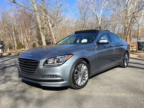 2017 Genesis G80 3.8 Redline Review