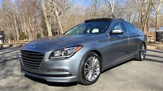 2017 Genesis G80 3.8  Redline: Review