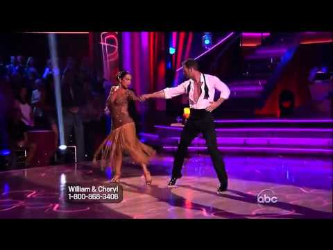 DWTS14 - Cheryl Burke and William Levy-Week 5, 2012.