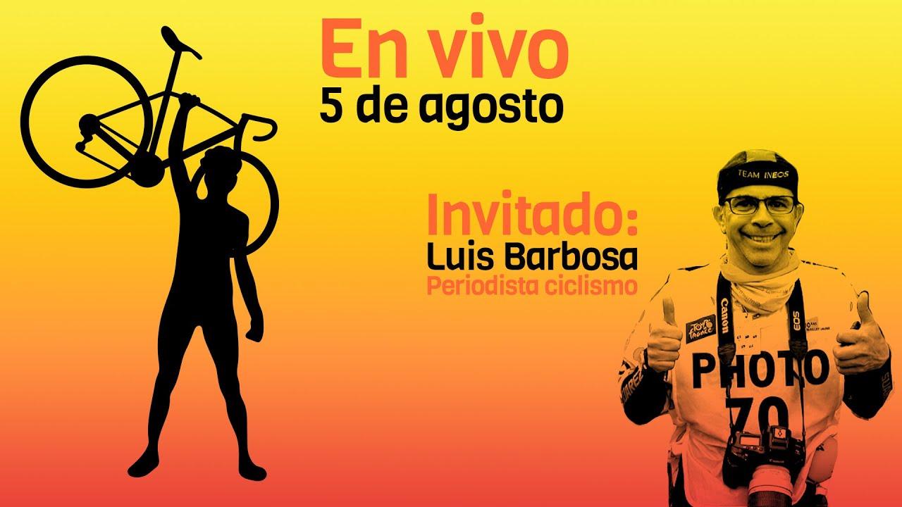 EN VIVO 5 de agosto Invitado Luis Barbosa periodista