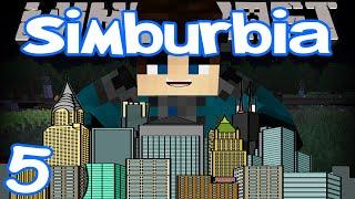 Minecraft - Simburbia | Ep 5 | Griefers Rekt My City