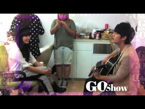Seo In Guk singing I'm Yours with Jung Eun Ji