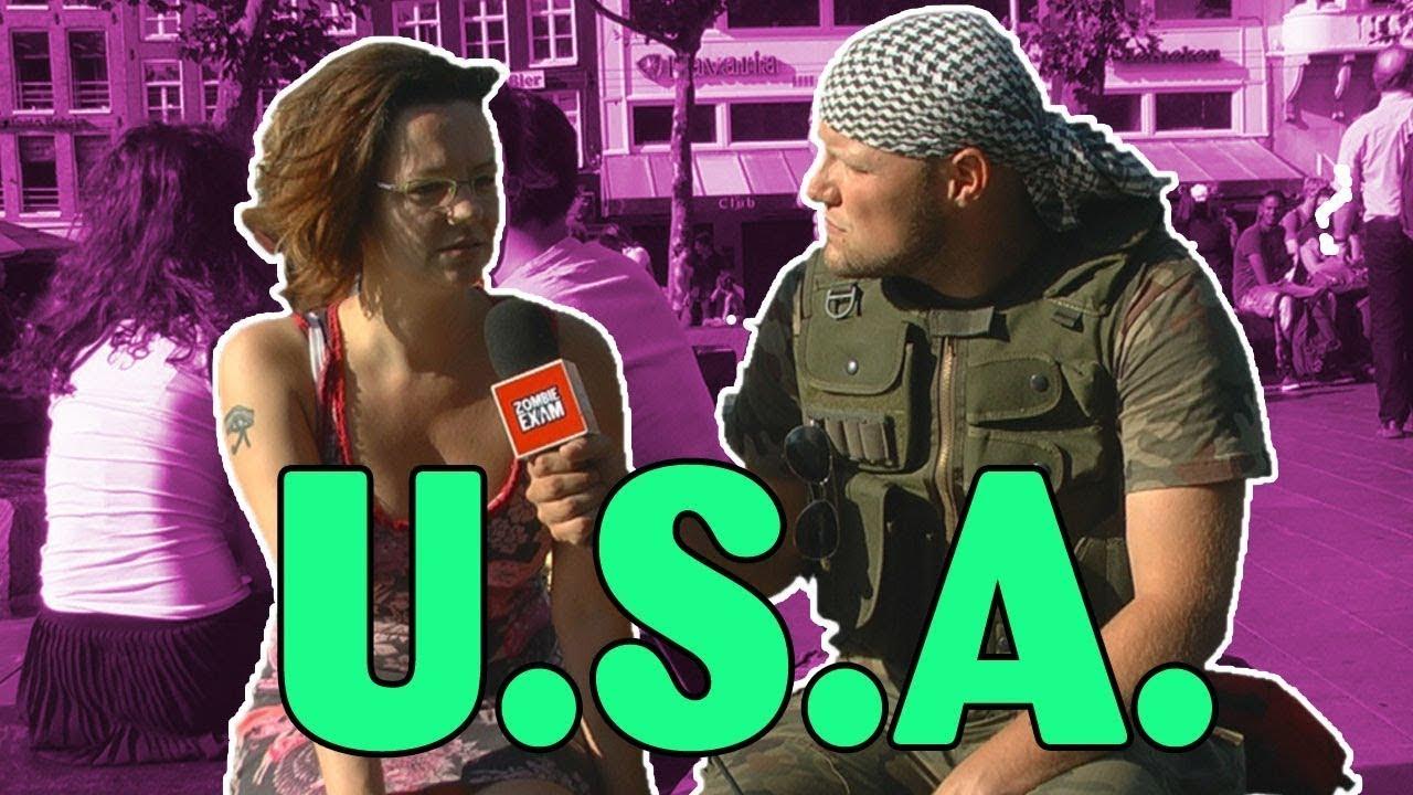Co Europejczycy wiedzą o USA? – MaturaToBzdura (są polskie napisy)