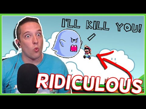 UNFAIR MARIO Is Both RIDICULOUS And HILARIOUS!!!