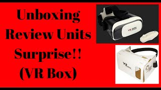 Unboxing , Review Units , Surprise of VR Box In Hindi