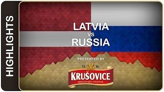 Russia improved its all-time Victory Day record | Latvia-Russia HL | #IIHFWorlds 2016