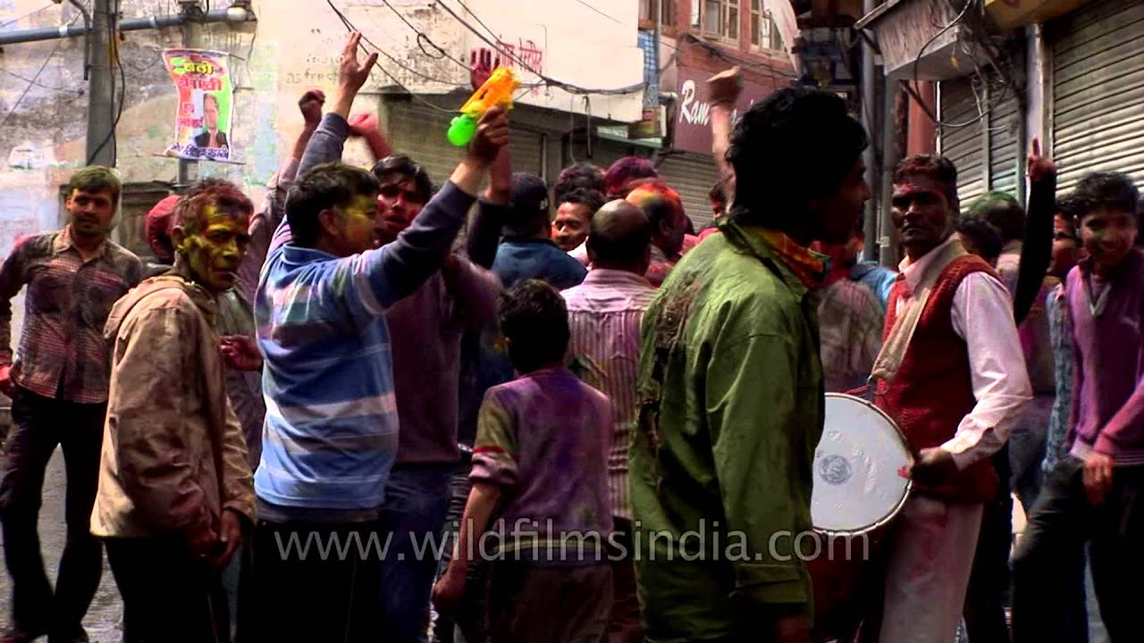 Dancing on Dhol beats: Holi in Mussoorie