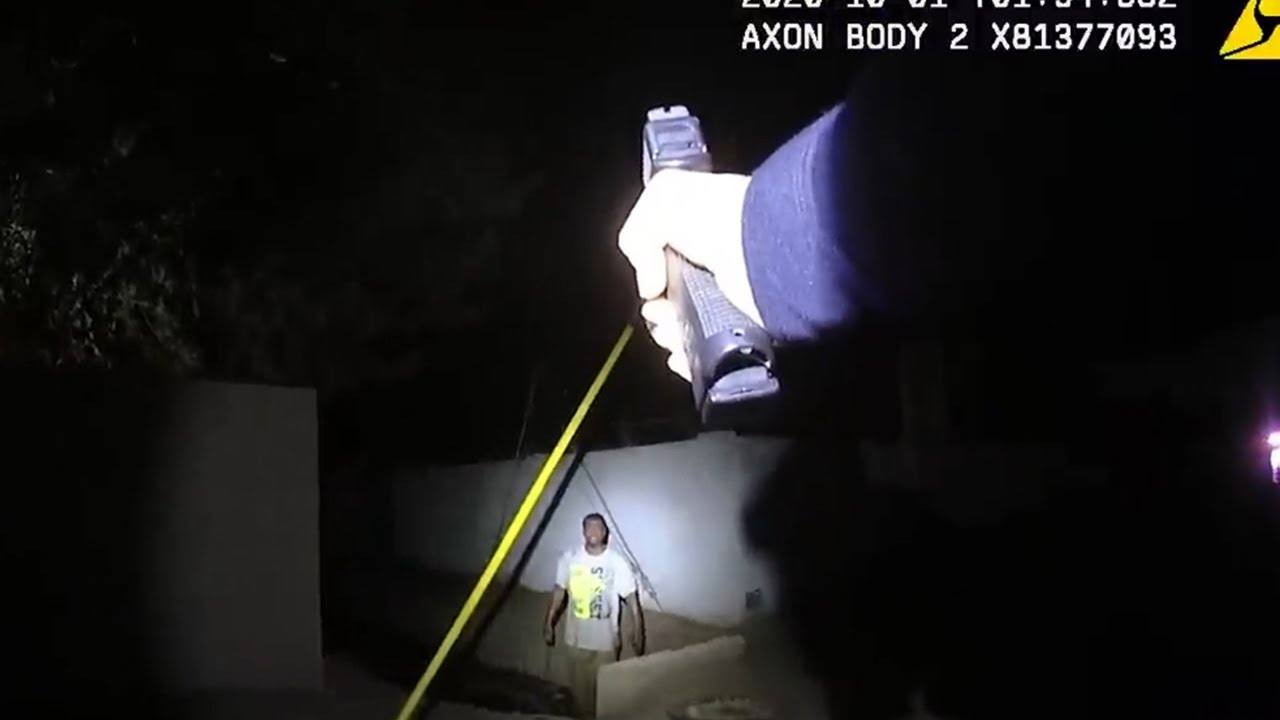 Download Phoenix police release edited body-cam video of officer shooting man armed with a saw