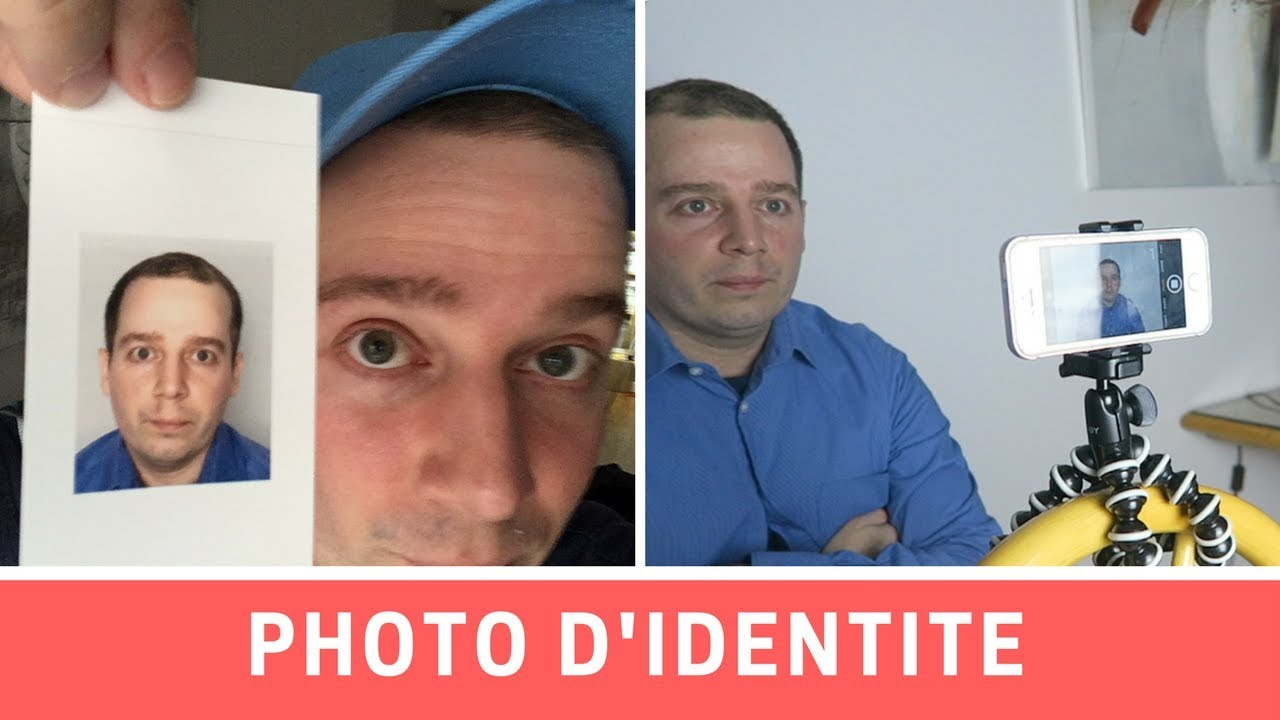 Prendre Une Photo D Identite Avec Iphone