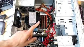 Собрал компьютер на Intel Core I7 930 + GTX950