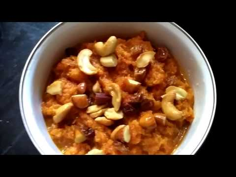Carrot Halwa with Jaggery & Benefits