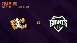 QConfirm vs Giants - South APAC League 2021 - Stage 1 - Playday #4