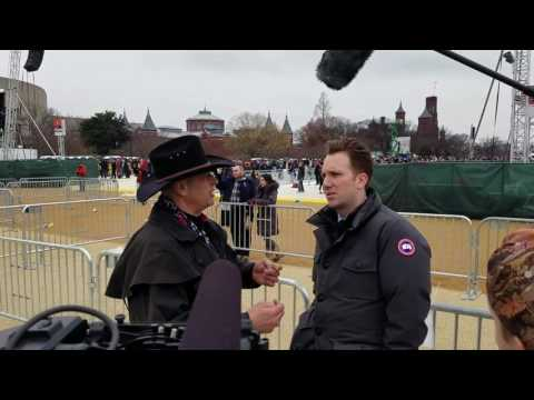 Jordan Klepper Daily Show interview at Trump's inauguration