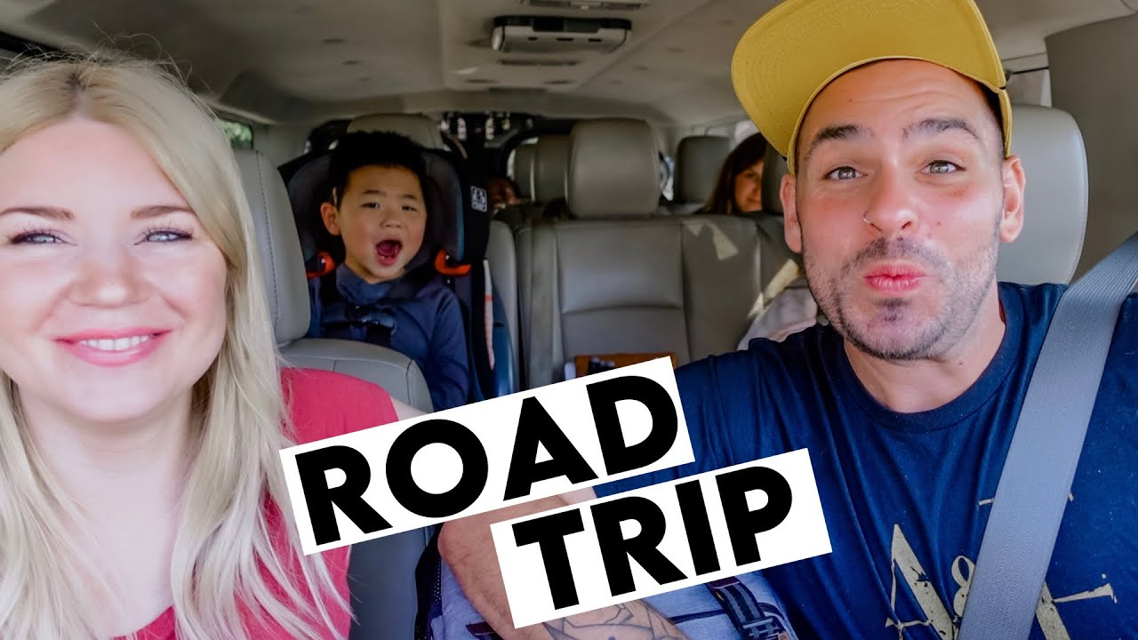 ROAD TRIP with our BIG FAMILY! ☀️