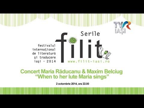FILIT 2014 Concert Maria Raducanu & Maxim Belciug