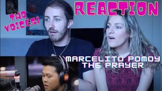 ITALIAN REACTS TO MARCELITO POMOY - THE PRAYER