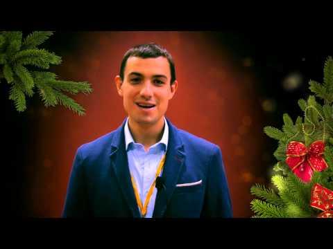 Новогоднее поздравление от Артема Лысикова