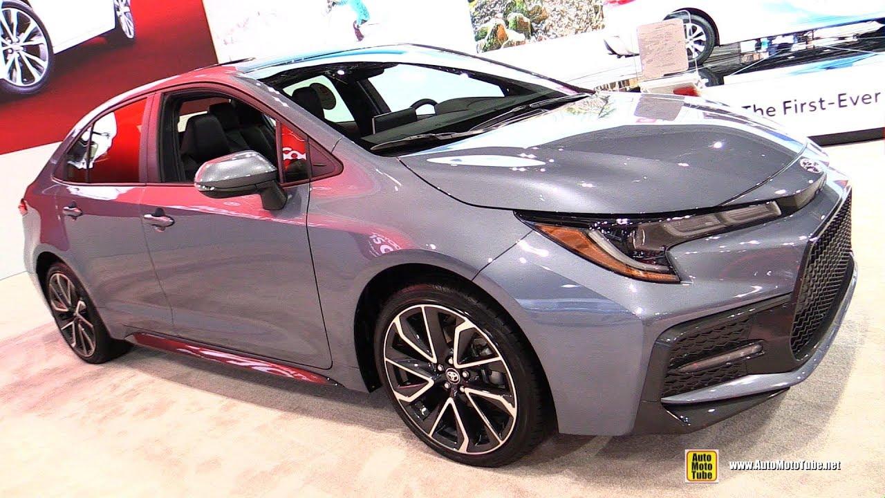 2020 toyota corolla xse - exterior and interior walkaround - debut at 2018 la auto show