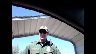 Border Patrol Checkpoint - Refuse/Resist Nazi Thugs - May 19th, 2013 - Pt.1