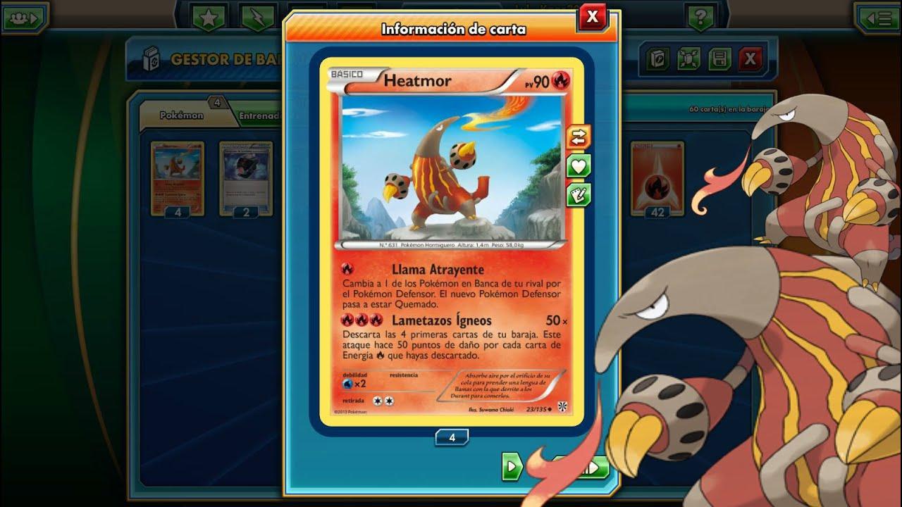Heatmor Deck!/ Pokémon TCG Online/ Español - YouTube for Heatmor Pokemon  55nar