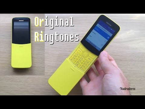 Nokia 8110 4G - ringtones, alert tones and alarms