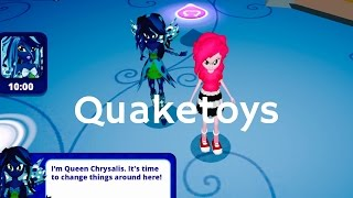 New Update Equestria Girls App Queen Chrysalis Scan MLP Friendship Games My Little Pony Long Version