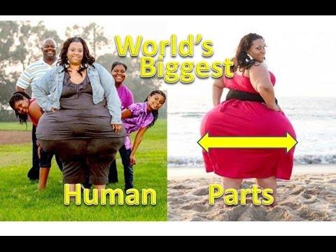 World's Biggest Human Parts