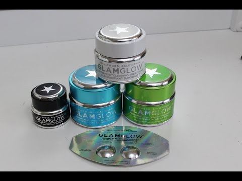 GlamGlow Demo & Review - ALL 5 TREATMENTS
