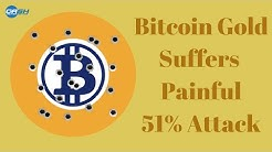 Bitcoin Gold Suffers Painful 51% Attack
