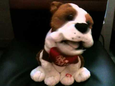 A singing pups gifted my wife to me on valentine day..........