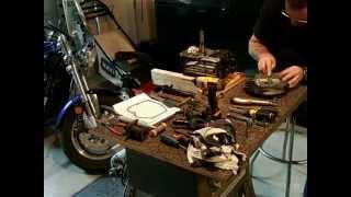 Montage moteur B&S de tondeuse TORO