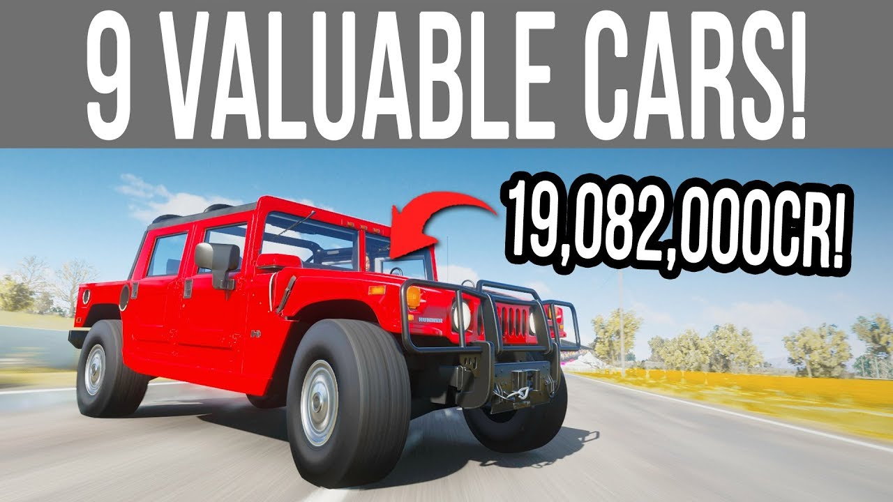 Forza Horizon 4 - 9 NEW Valuable Cars That SELL For Millions of Credits! thumbnail