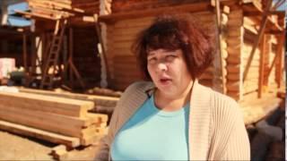 АПРЕЛЬ СТРОЙ. Первый этап строительства дома из уральской сосны.(Первый этап: индивидуальный проект, выдержанный лес, рубка