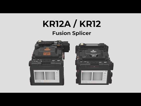 Swift KR12 and KR12A, Fusion Splicer [Deutsche Untertitel]